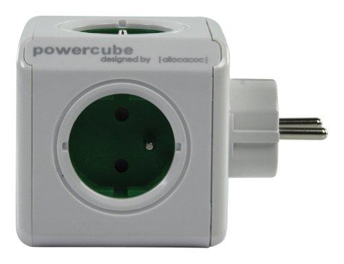 Allocacoc-16896-PowerCube-Original-Bloc-mural-5-Prises-Blanc-0-0