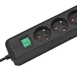 Brennenstuhl-Prolongateur-multiprise-Eco-Line-avec-interrupteur-marche-arrt-3-prises-orientes--45-cble-H05VV-F-3G10-15-m-noir-Quantit-1-0