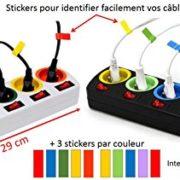 Lot-de-2-Bloc-Multiprise-Couleur-Interrupteur-pour-chaque-sortie-stickers-0-0