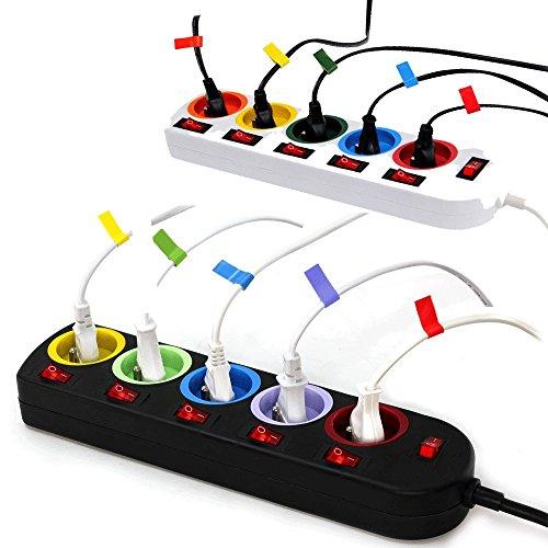 Lot-de-2-Bloc-Multiprise-Couleur-Interrupteur-pour-chaque-sortie-stickers-0