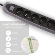Electraline-Gummy-35619-Bloc-Multiprise-5-prises-et-2-USB-avec-interrupteur-couverture-en-silicone-antidrapant-cble-2-mt-fiche-plat-0-0