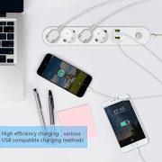 Multiprise-dAlimentation-GLISTENY-Multiprise-Parasurtenseur-parafoudre-4-prises-avec-4-ports-USB-Rallonge-Multiprise-Protection-contre-foudre-Rsistance--la-surcharge-Cble-2-m-Blanche-0-0