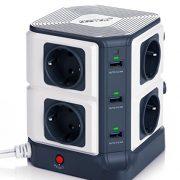 BESTEK-Tour-Multiprise-USB-Bloc-ParafoudreParasurtenseur-8-Prises-avec-6-Ports-USB-de-Recharge-0-0