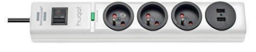 Brennenstuhl-hugo-Bloc-multiprise-4-prises-avec-parasurtenseurparafoudre-cordon-0