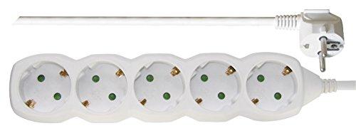 EMOS-P0523-R-Rallonge-multiprise-avec-cble-de-3-m-Blanc-15-mm-x-45–5-Prises-Schuko-multiprise-avec-scurit-Enfant-IP20-3680-W-250-V-0